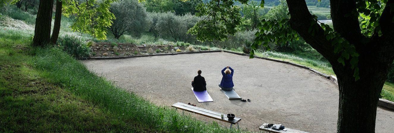 jeûne et yoga,photo